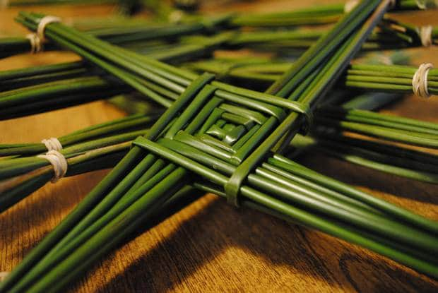 Saint Brigid, the first patron Saint in Spring